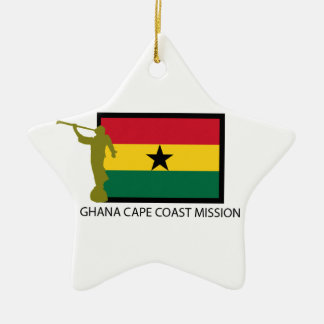 GHANA CAPE COAST MISSION LDS CTR CERAMIC ORNAMENT