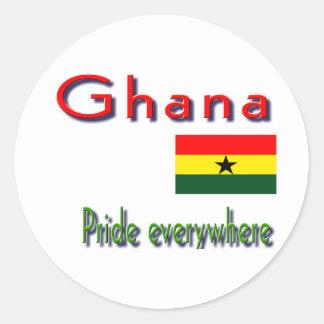 Ghana Classic Round Sticker