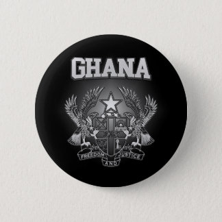 Ghana Coat of Arms 2 Inch Round Button