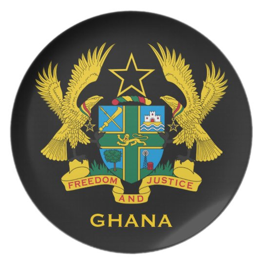 Ghana* Coat of Arms Collector's Plate