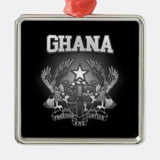 Ghana Coat of Arms Metal Ornament