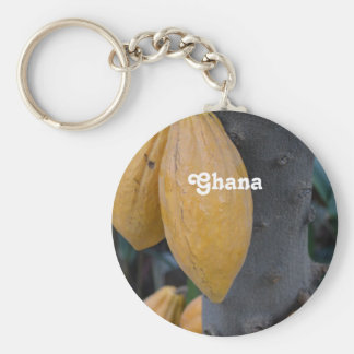 Ghana Cocoa Keychain