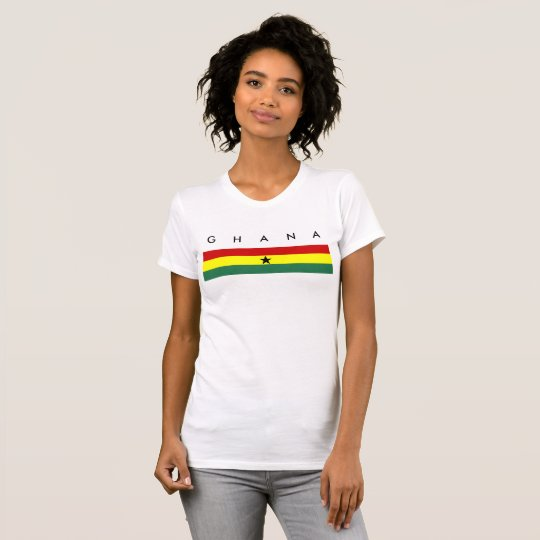 Ghana country long flag nation symbol republic T-Shirt