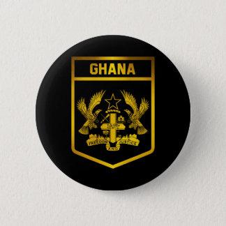 Ghana Emblem 2 Inch Round Button