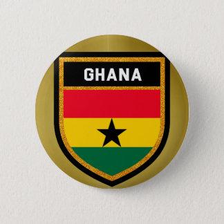 Ghana Flag 2 Inch Round Button