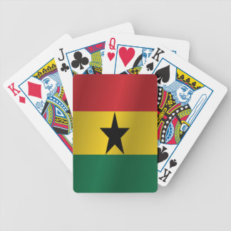 Ghana flag bicycle playing cards