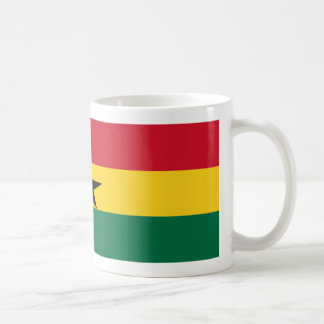 Ghana Flag Coffee Mug