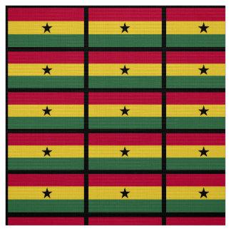 Ghana flag fabric