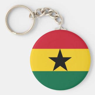 Ghana Flag Keychain