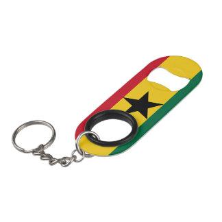 Ghana Flag Keychain Bottle Opener