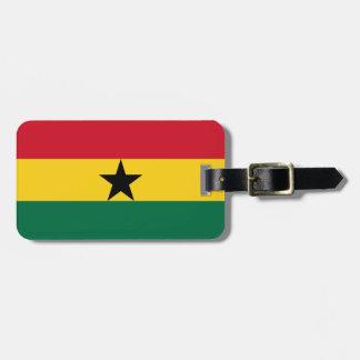 Ghana Flag Luggage Tag