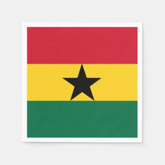 Ghana Flag Napkin