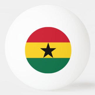 Ghana Flag Ping Pong Ball