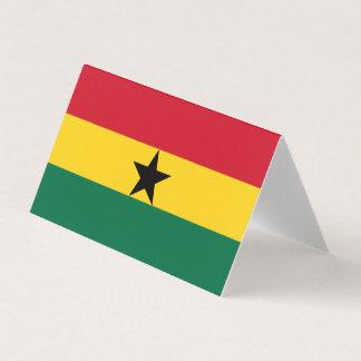 Ghana Flag Place Card