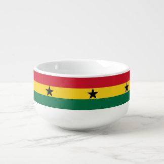 Ghana Flag Soup Mug