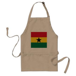 Ghana Flag Standard Apron