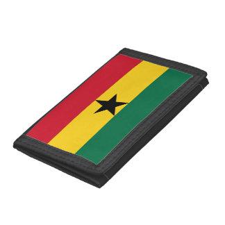 Ghana Flag Trifold Wallet