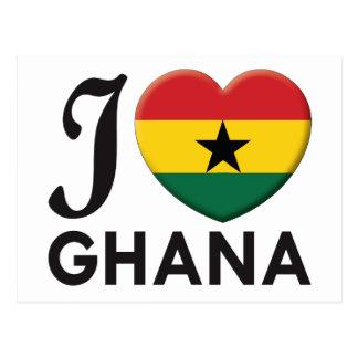 Ghana Love Postcard
