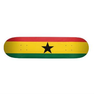 Ghana Plain Flag Skate Board