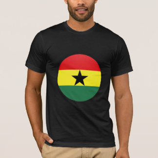 Ghana quality Flag Circle T-Shirt