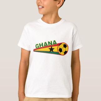 Ghana Soccer ball and flag design T-Shirt