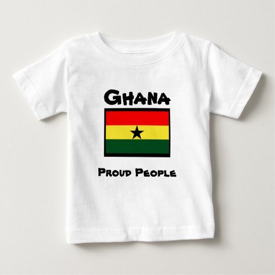 ghana t-shirts_proud people baby T-Shirt