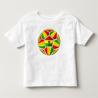 Ghana The Black Stars soccer ball Ghanaian flags Toddler T-shirt