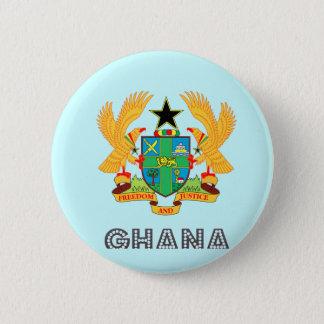 Ghanaian Emblem 2 Inch Round Button