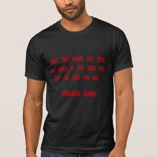 Ghandi Quote Shirt