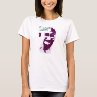 Ghandi  you can judge a society T-Shirt