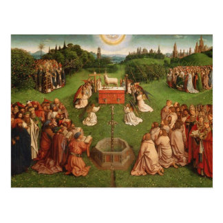 Ghent Altarpiece Postcard