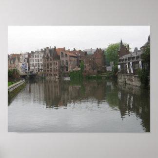 Ghent, Belgium Poster
