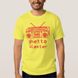 ghetto blaster 8bit t-shirt