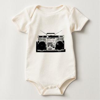 Ghetto Blaster Baby Bodysuit