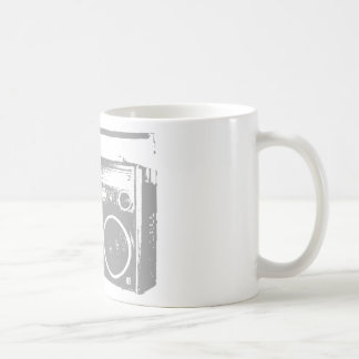 Ghetto Blaster Basic White Mug