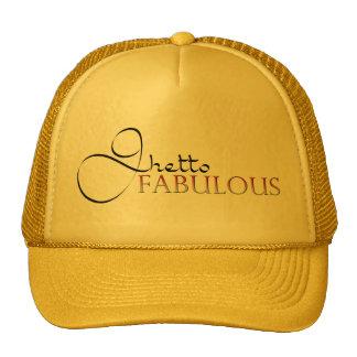 Ghetto Fabulous Gold Hat