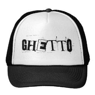 ghetto. trucker hat