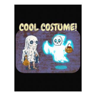 Ghost and Skeleton Costume Letterhead