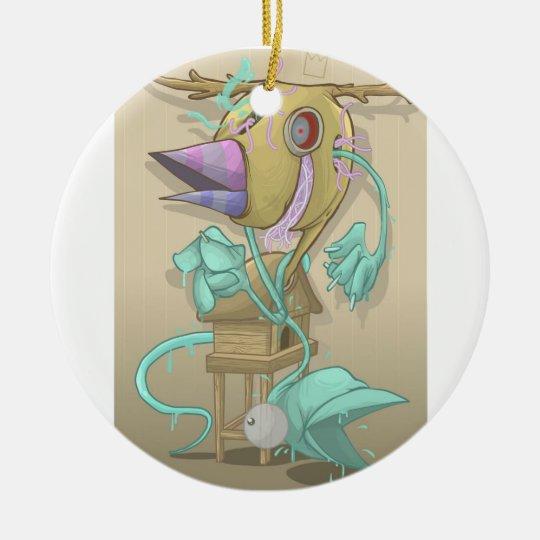 Ghost Animal Ceramic Ornament