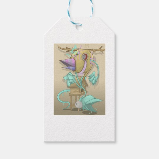 Ghost Animal Gift Tags