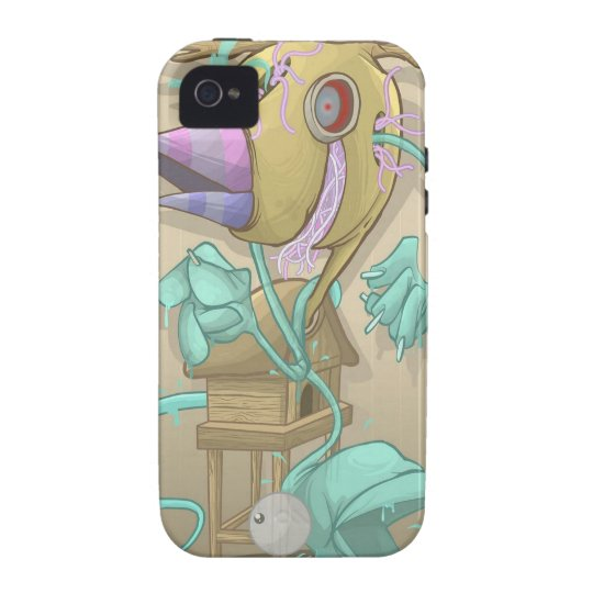 Ghost Animal iPhone 4 Case