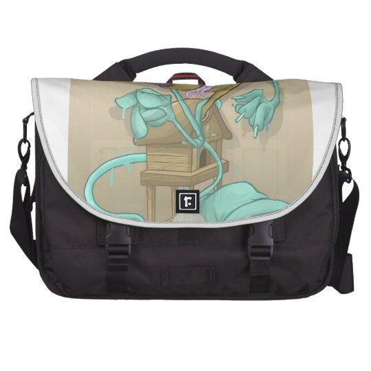 Ghost Animal Laptop Commuter Bag