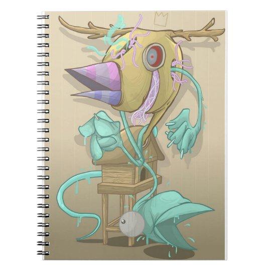 Ghost Animal Notebook