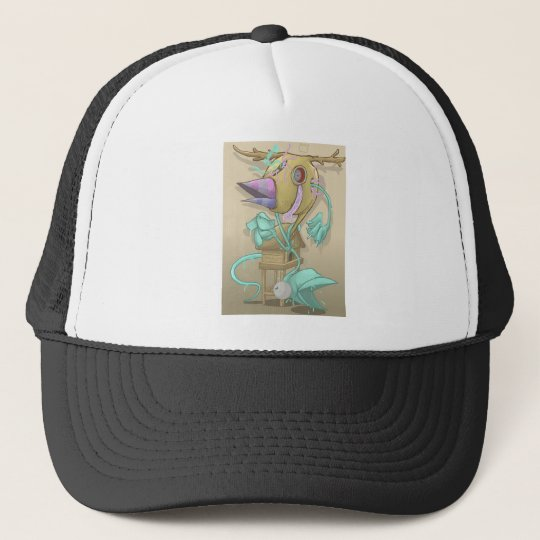 Ghost Animal Trucker Hat