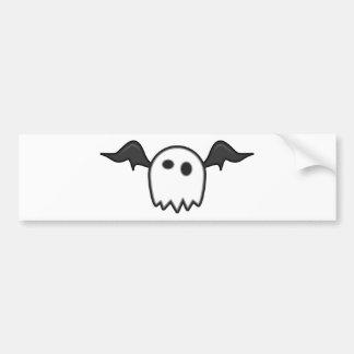 Ghost Bat- Bumper Sticker