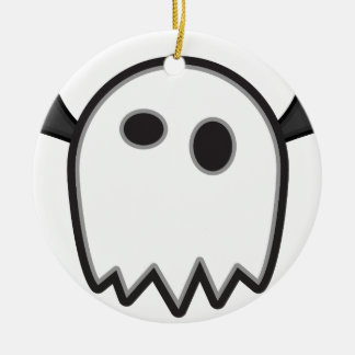 Ghost Bat- Ceramic Ornament