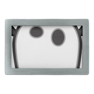 Ghost Bat- Rectangular Belt Buckles