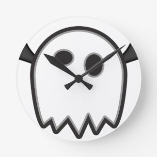 Ghost Bat- Round Clock