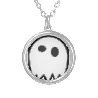 Ghost Bat- Silver Plated Necklace