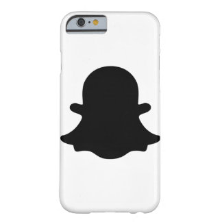 Ghost -  Black Barely There iPhone 6 Case